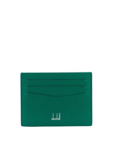 Cadogan Printed Leather Card Case