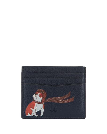 dunhill Boston Bulldog Card Case
