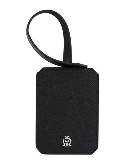 Cadogan Leather Luggage Tag
