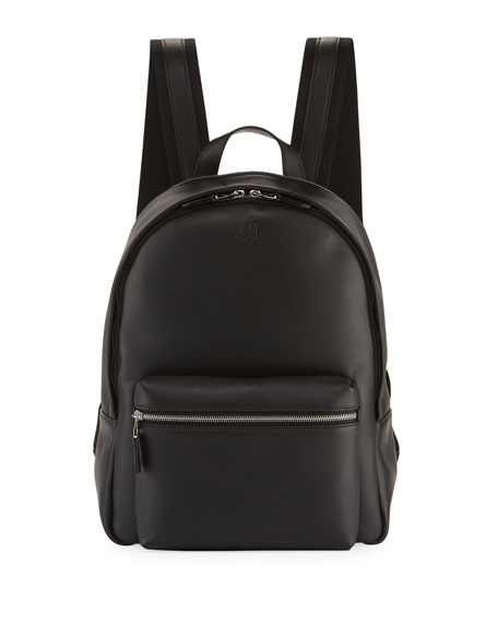 dunhill Hampstead Leather Rucksack Backpack