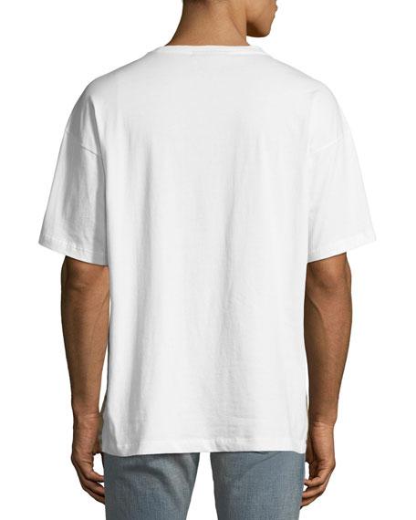 Men's Signature Check Cotton T-Shirt