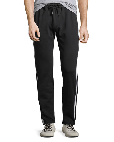 Men's Aiden Side-Striped Track Pants