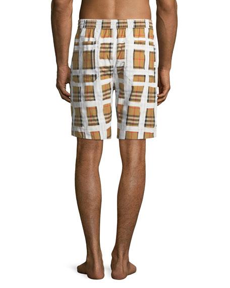Men's Holden Graph-Check Board Shorts