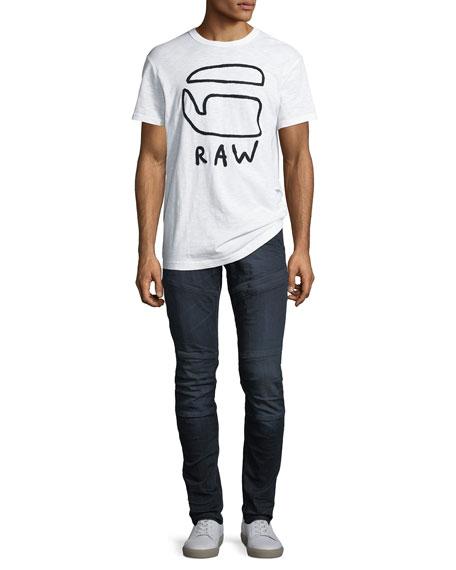 Rackham Super-Slim Moto Jeans