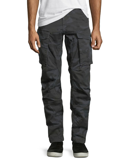 G-Star Rovic Camo-Print 3D Zip Cargo Pants
