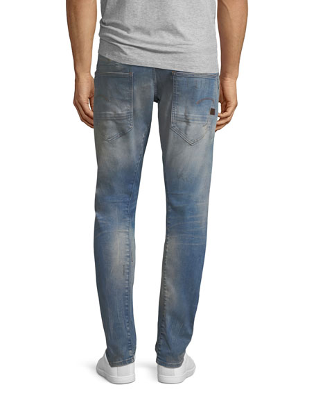 a84c3888daee Image 2 of 3  D-Staq 3D Super Slim Jeans in Light Aged Restored