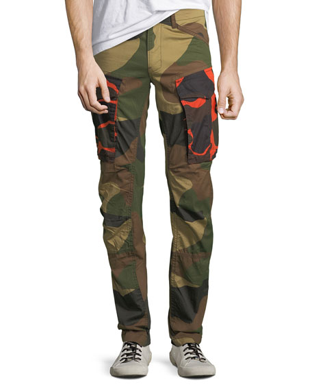 G-Star Rovic Mix 3D Camouflage Zip Cargo Pants