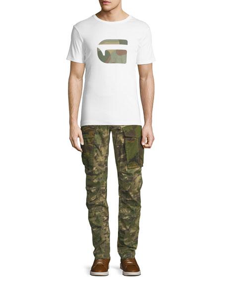 Rovic Mix 3D Zip Cargo Pants, Green