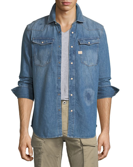 3301 Graft Denim Shirt