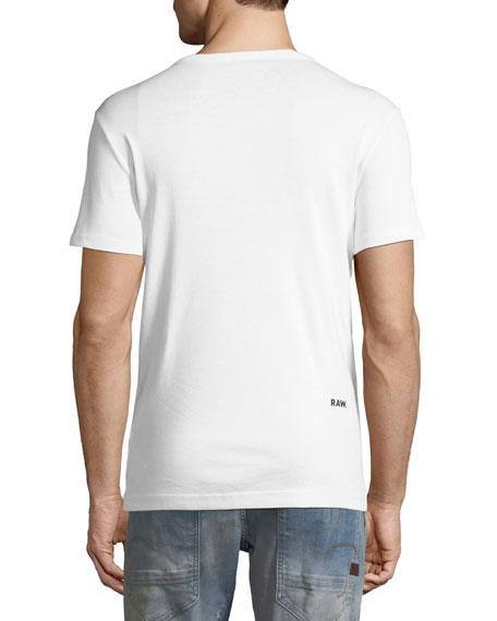 Mai Slim Camo-Logo T-Shirt