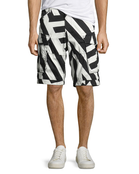 G-Star Men's Rovic Loose Cargo Shorts