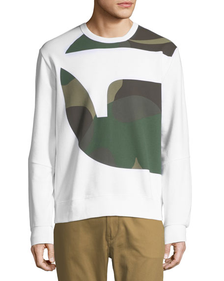 Torne Stalt Graphic-Panel Sweater