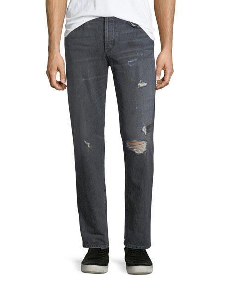 Hudson Dixon Easy Straight Jeans, Hurricane