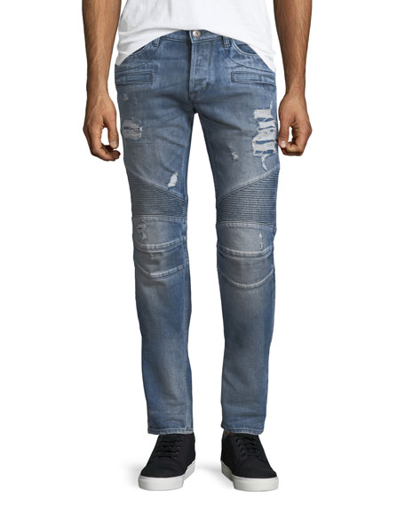 Hudson Men's The Blinder Biker Jeans, Chopper