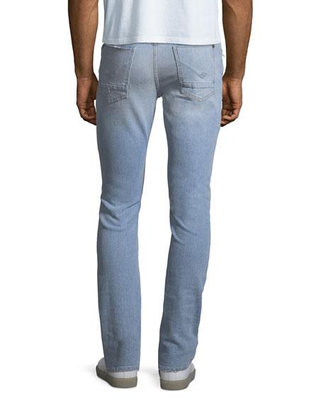 Men's Axl Distressed Skinny Jeans, Blaze