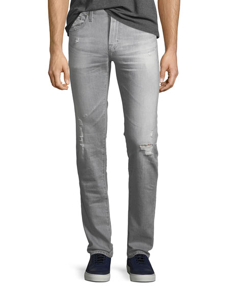 AG Adriano Goldschmied Tellis Straight-Leg Jeans in 21