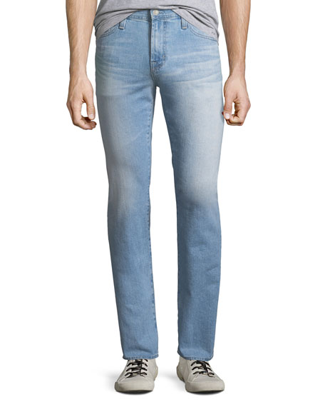 AG Adriano Goldschmied Everett Slim Straight-Leg Jeans in