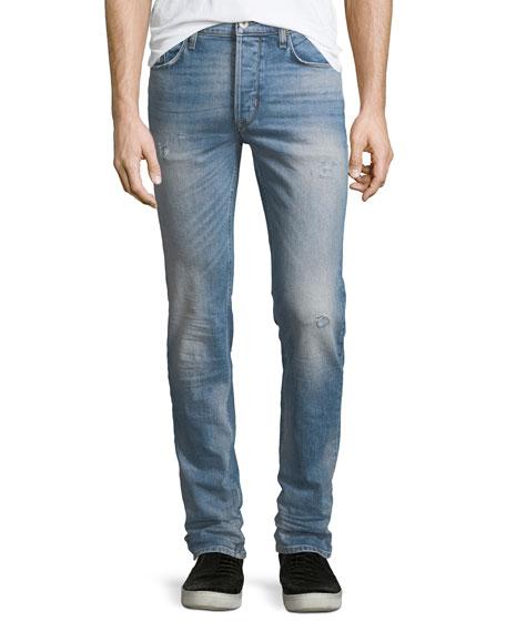 Hudson Sartor Slouchy Distressed Skinny Jeans