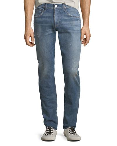 Blake Slim-Straight Denim Jeans, Intoxicate