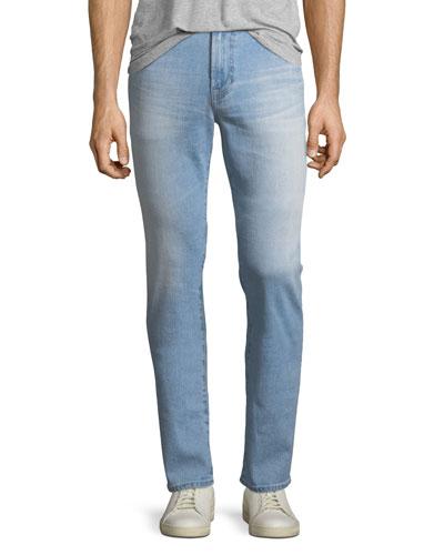 Everett Slim Straight-Leg Jeans in 12 Years Maverick