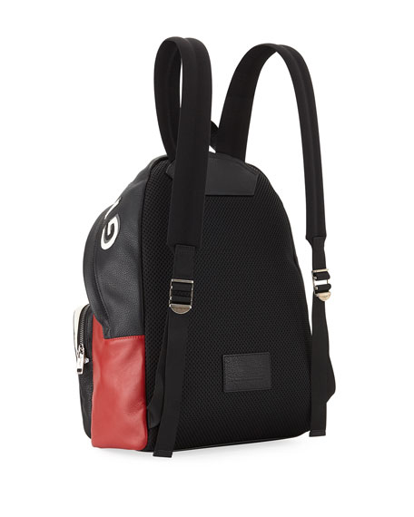 Men's MC3 Colorblock Leather Backpack