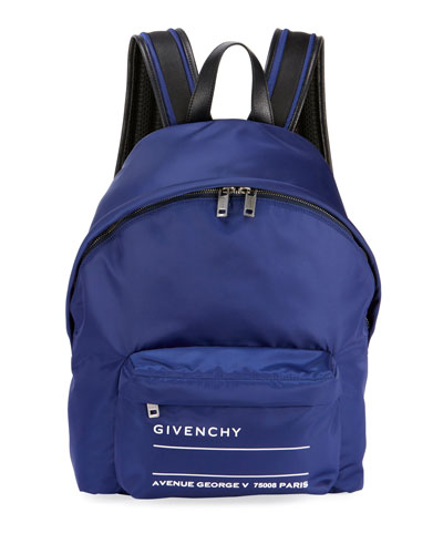 Urban Men's Logo Hike-Strap Backpack