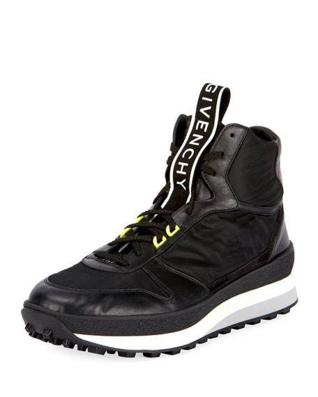 Givenchy Men's TR3 Mid-Top Runner Sneakers