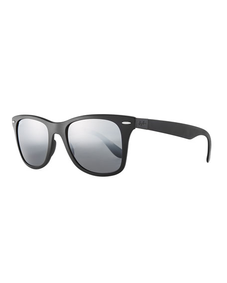 Ray-Ban Wayfarer Literforce Gradient Mirrored Men's Sunglasses