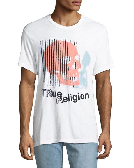Men's Logo Skull Graphic T-Shirt