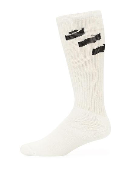 Men's Off Diagonal Socks