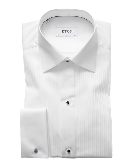 Eton Slim-Fit Pleated Bib Formal Shirt