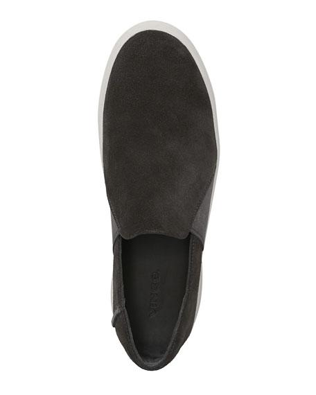 Carlin Suede Slip-On Sneaker