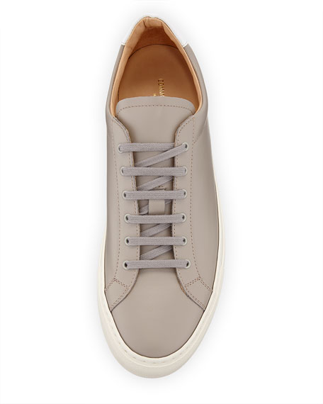Men's Retro Leather Low-Top Sneakers