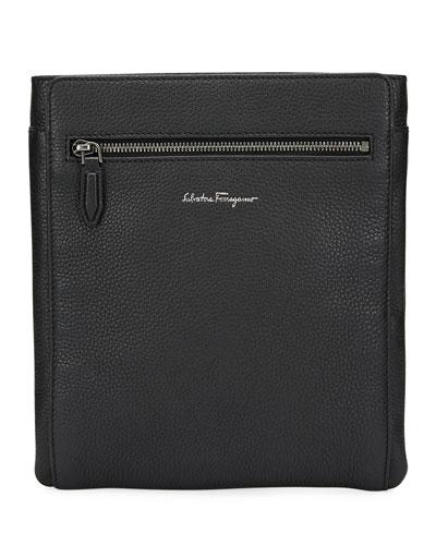 Salvatore Ferragamo Men s Firenze Leather Crossbody Bag cc7da4f70d