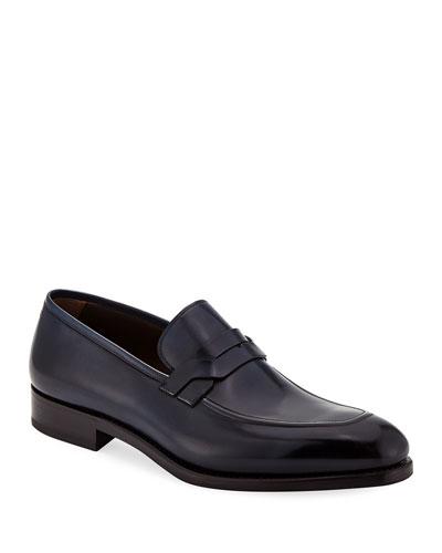 Men's Backer Braided Leather Loafer