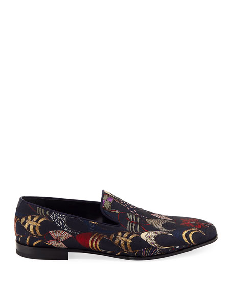 Men's Jacquard Archival Slip-On Loafer