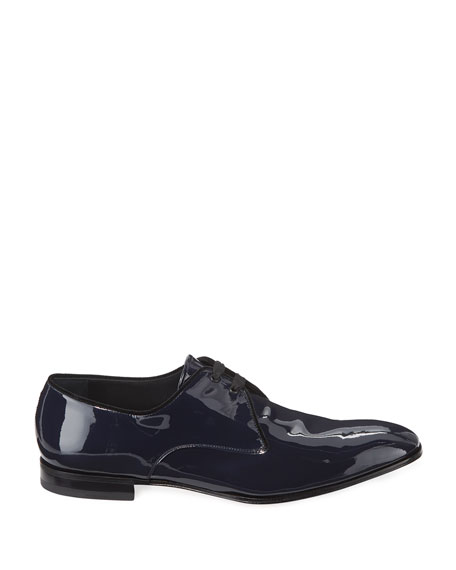 Men's Broadway Patent Leather Oxford Shoe