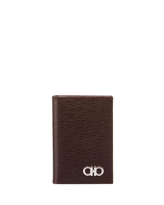 Salvatore FerragamoMen s Revival Bi-Fold Lizard-Embossed Leather Card Case 0f4a5a916a558