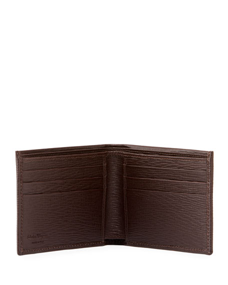 Men's Revival Bi-Fold Lizard-Embossed Leather Wallet