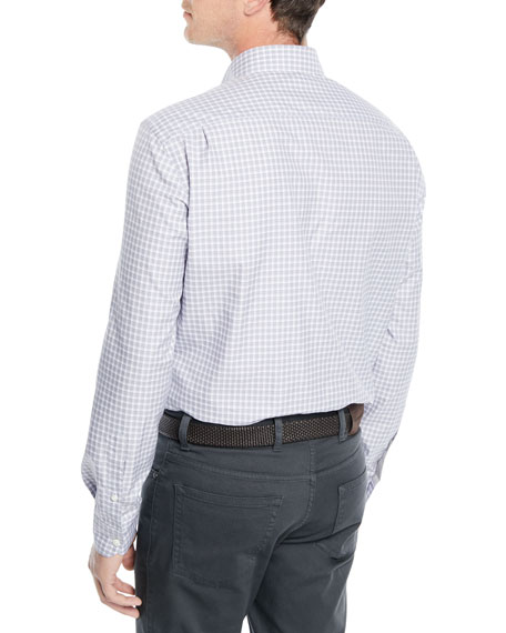 Men's Check Woven Sport Shirt
