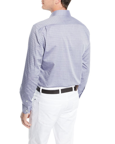 Check Long-Sleeve Sport Shirt