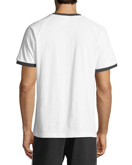 Men's Three-Stripes Cotton T-Shirt