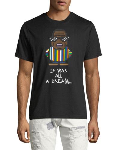 Men's It Was All A Dream Biggie Smalls Graphic T-Shirt