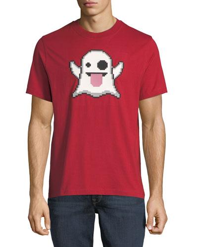 Spooky Emoji Graphic T-Shirt