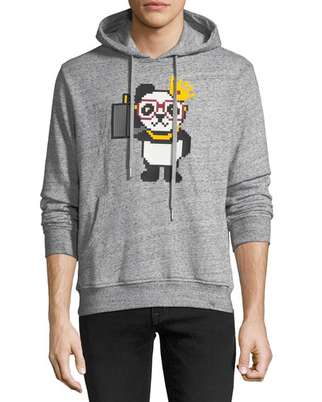 Men's Things Done Changed Panda Graphic Hoodie