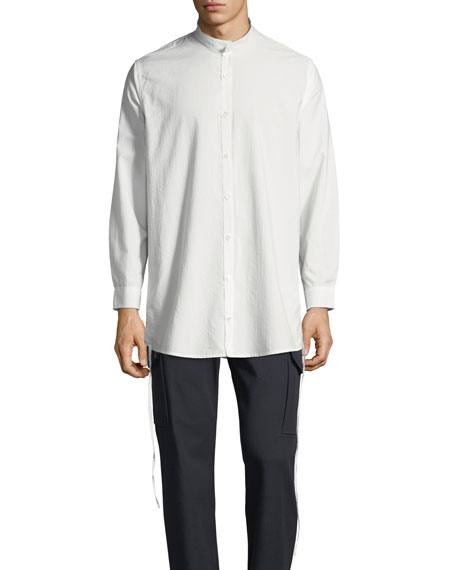 Private Stock Men's Ull Mandarin-Collar Button-Front Shirt