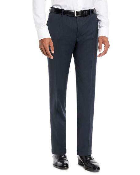 Incotex Men's Sergio Slim Stretch Techno-Wool Trousers
