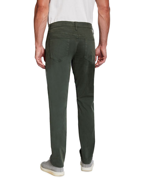 Brixton Straight-Leg Sateen Twill Pants