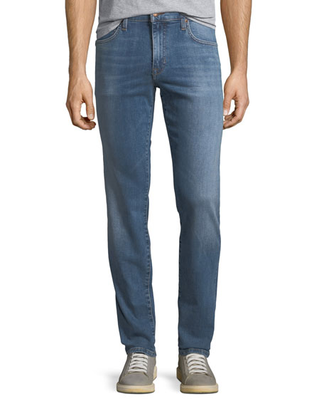 Men's Slim-Fit Straight-Leg Jeans, Stiller