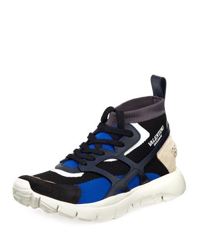 Men's Sound High-Top Sock Sneakers